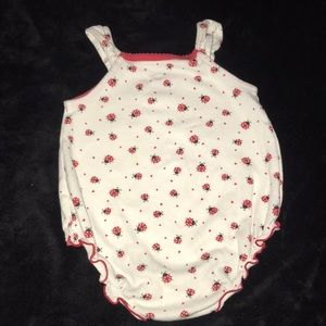 first moments One Pieces - First Moments Baby onsie lady bugs 6 months